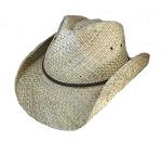Plus Size Straw Cowboy Hat - BigHead