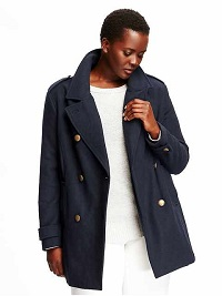 Plus Size Coat - Old Navy Pea Coat