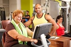 plus size personal trainer