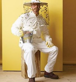 bee keeper DIY plus size costume