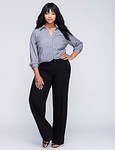 Lane Bryant Sophie Tailored Stretch Straight Leg Wide Pant