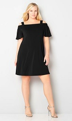avenue black dress
